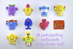 McDonalds Mr Men