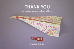 Unitaid Thank You