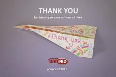 Unitaid Thank You