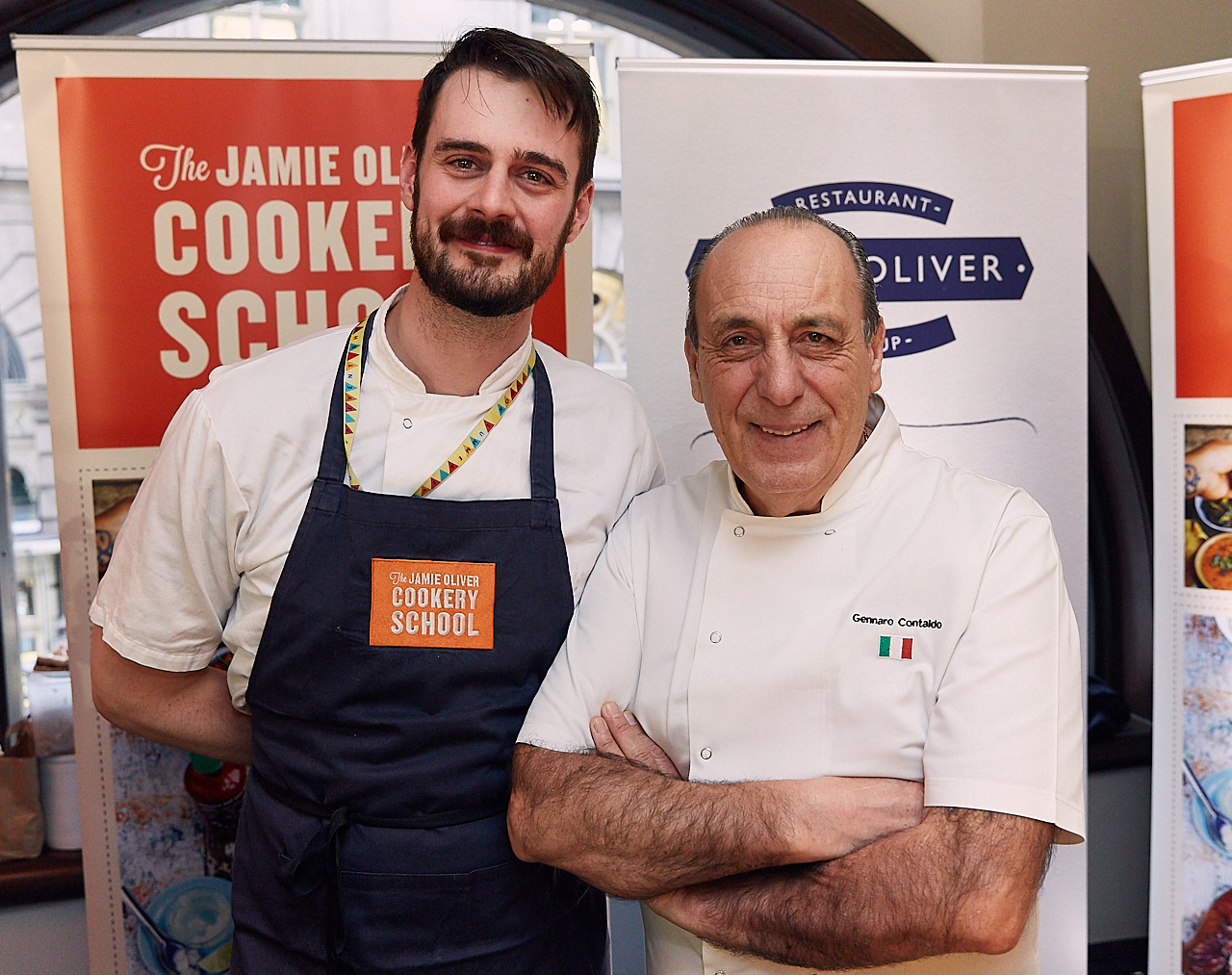 Gerraro and chef
