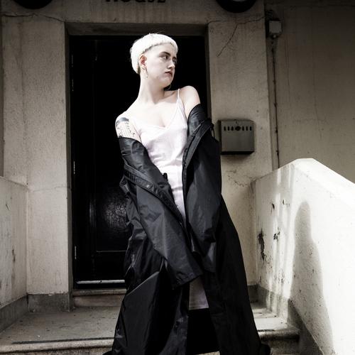 Girl in black coat blog