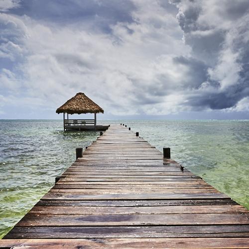 Belize pier blog