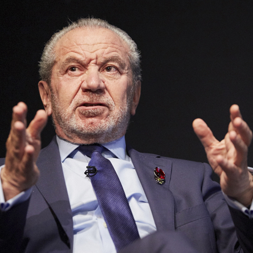 Alan Sugar talks