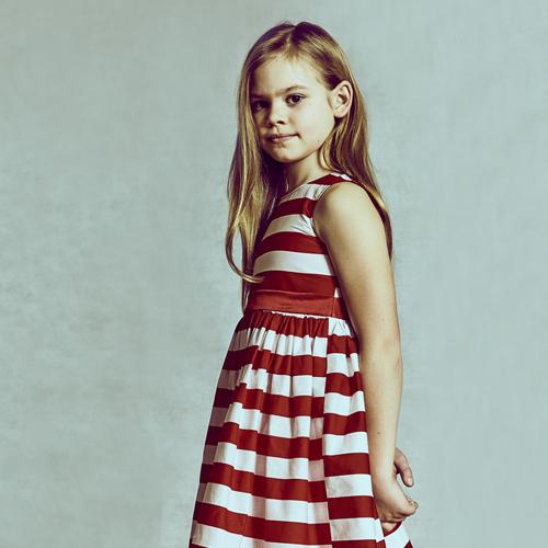 Adams Kids red dress