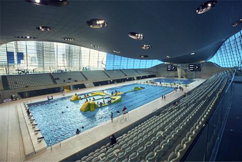 Aquatic Centre interior
