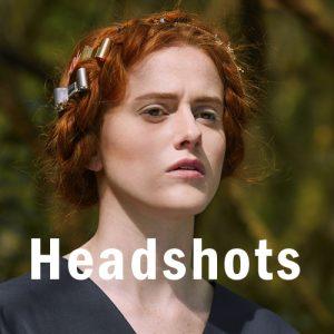 Headshots section head
