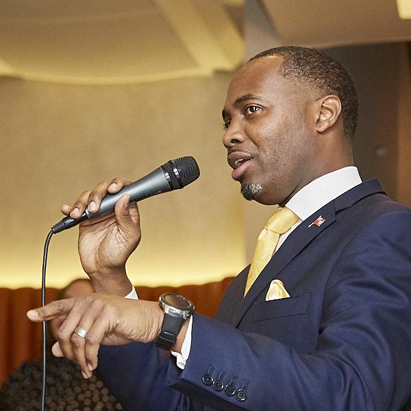 Mr E David Burt Premier of Bermuda