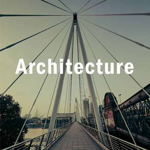 Architecture title frame